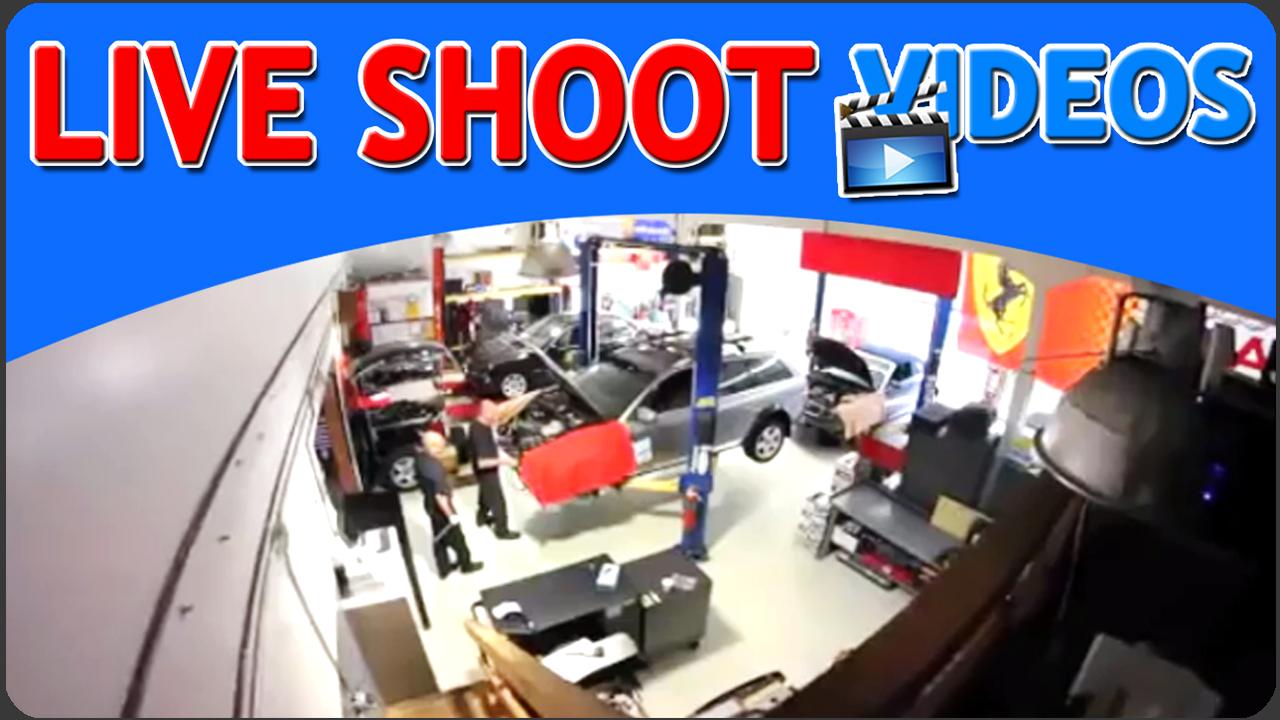 Live Shoot Videos